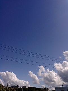 シルバーウィーク青空