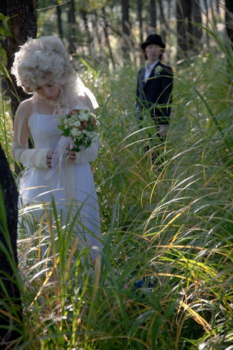 熊本 結婚式の写真 南阿蘇 ロケーション前撮り 写真