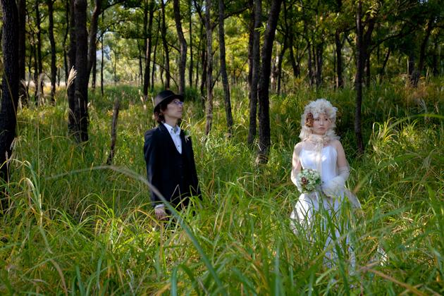 熊本 結婚式記念写真 南阿蘇 ロケーション前撮り