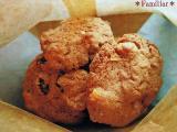 マカダミアンナッツ&レーズンのチョコクッキー