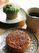 抹茶マフィン&カフェオレ味のクイニーアマン