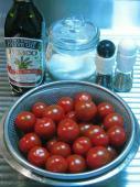 トマトソースの材料