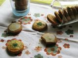 レモンアイシングのクッキー&ミントクッキー