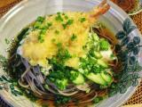 冷やし天ぷらネバネバ蕎麦