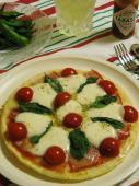 マルゲリーター風ピザ