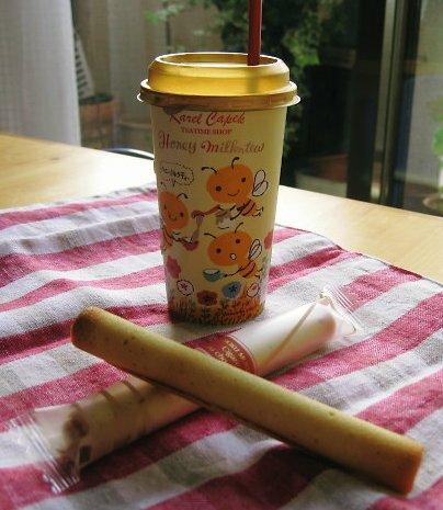 カレルチャペックのハニーミルクティー