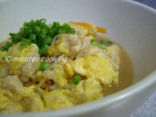 高野豆腐de炒り煮