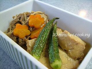 しみしみ肉豆腐
