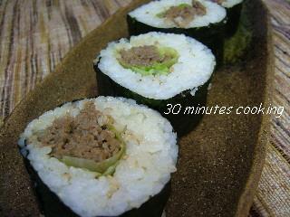 焼肉de太巻き寿司
