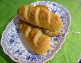 ホームベカリーdeミニフランスパン