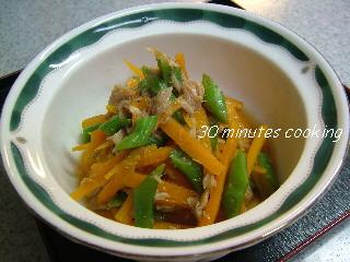 ツナと野菜の簡単和え