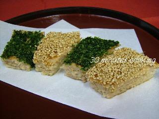 鶏の松風焼き☆つくねハンバーグ