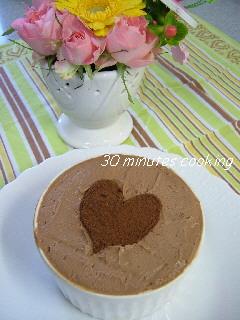 ホットケーキミックスDEガナッシュ風チョコケーキ