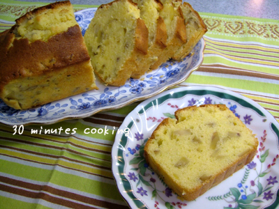 栗の甘露煮DEパウンドケーキ