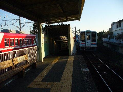 西鹿島駅天浜線ホーム