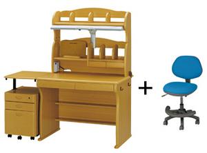 ニトリのハイタイプ学習机+イスセット 巾100cm