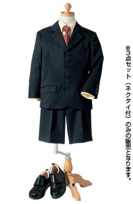 ニッセンの男の子3点セット(ジャケット+シャツ+パンツ)(ネクタイ付)(サスペンダー付)
