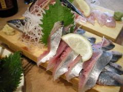 7.秋刀魚の刺身