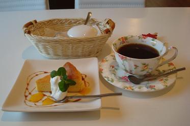 チーズケーキ+珈琲