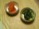 明太子と広島菜