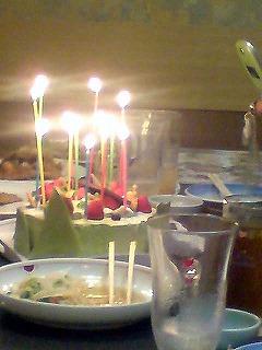 誕生会6月ケーキ
