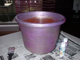紫を塗った