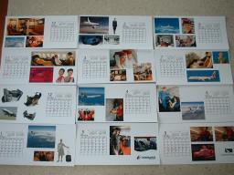 カレンダー完成その1