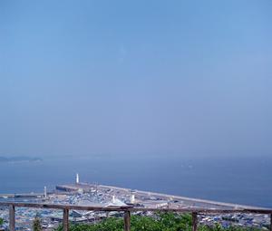 江ノ島喫茶からの景色
