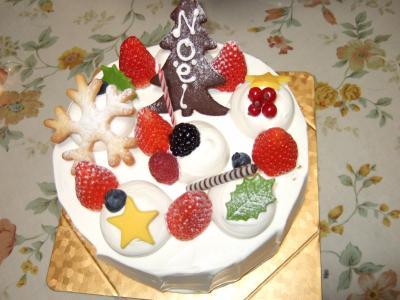 くりすますケーキ