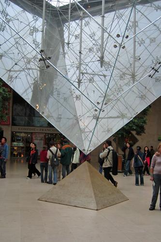 ピラミッドが合わさる場所は・・・