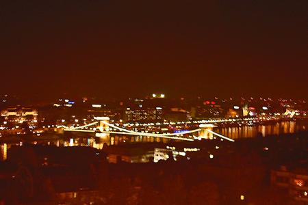 ドナウ川の夜景