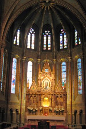 マーチャーシュ教会 祭壇