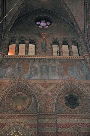 マーチャーシュ教会 内部の装飾