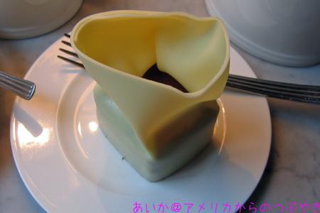 アフタヌーンティーのケーキ1