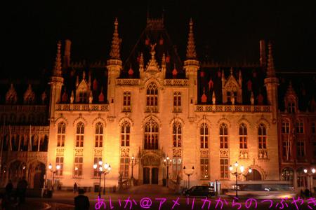 夜の州庁舎