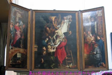 「キリスト降架」byルーベンス