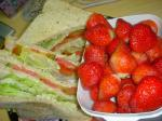 健康サンドイッチ・イチゴちゃん