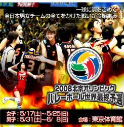 バレー全日本
