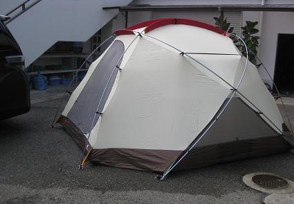 テント完成!