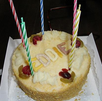 ゆうさんからのケーキ♪