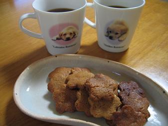 美味しいクッキーで、コーヒーブレイク♪