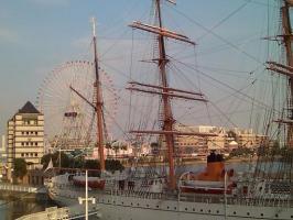 この景色が一番横浜を感じる。