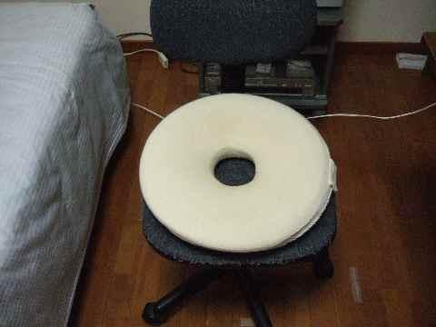 ワタシの椅子は……