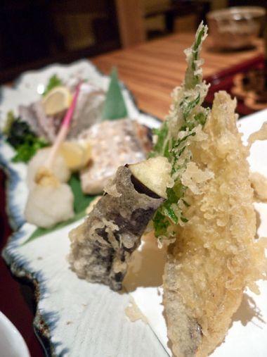 やがら 太刀魚の天ぷら