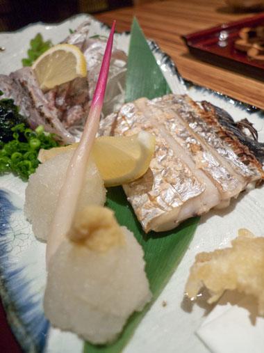 やがら 太刀魚の塩焼き