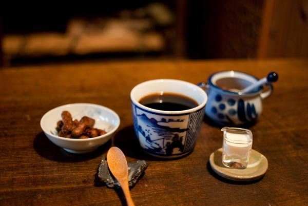 まつや茶房 コーヒー