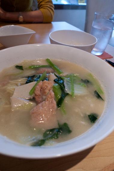 棗 麺ランチ