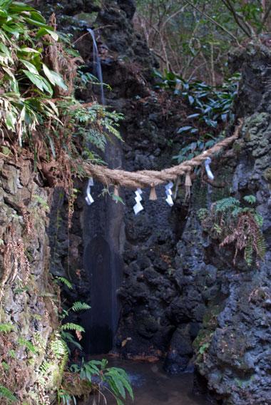 油山寺 滝