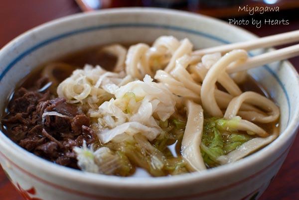 美也川 肉うどん麺