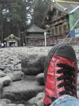 日光東照宮の入り口とお気に入りの靴